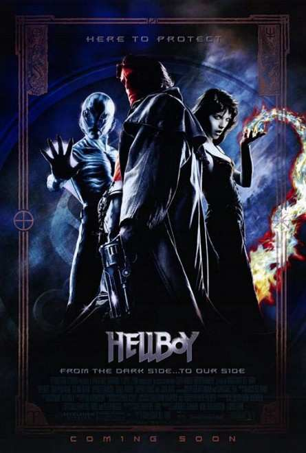دانلود فیلم پسر جهنمی با دوبله فارسی Hellboy 2004