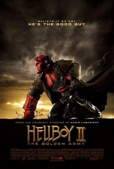 دانلود فیلم Hellboy II: The Golden Army 2008 با دوبله فارسی