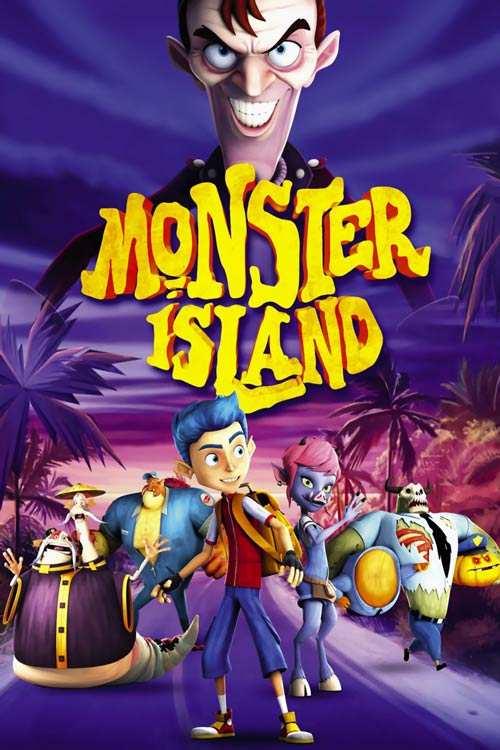 انیمیشن Monster Island 2017