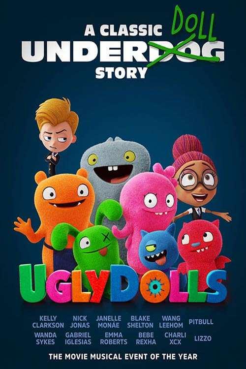 انیمیشن UglyDolls 2019