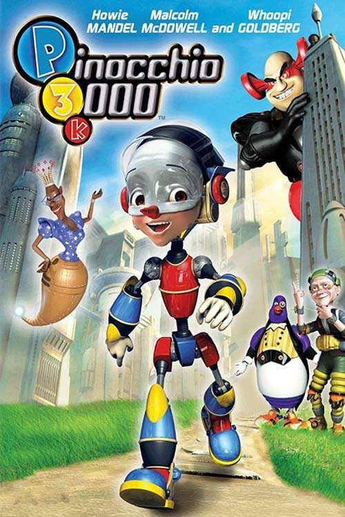 دانلود انیمیشن Pinocchio 3000 2004 با دوبله فارسی