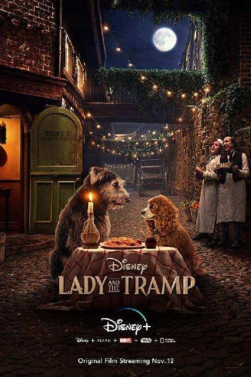 دانلود فیلم Lady and the Tramp 2019 با دوبله فارسی