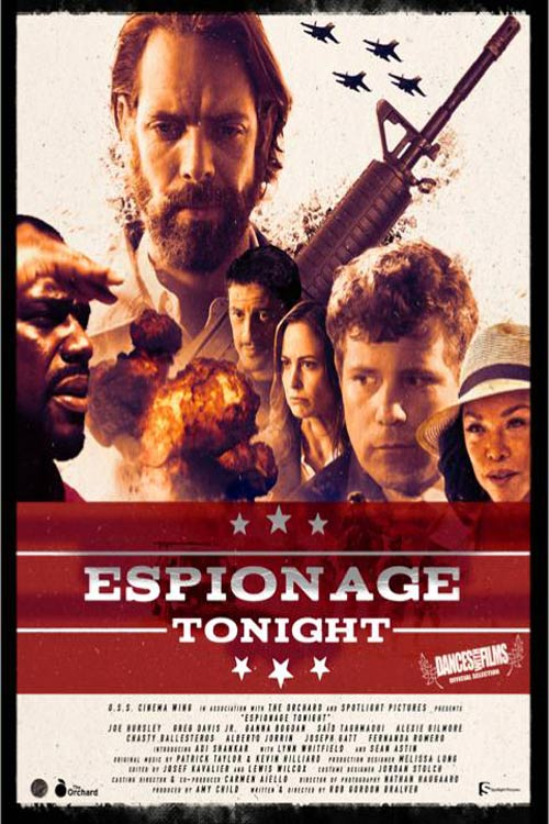 دانلود فیلم Espionage Tonight 2017 با لینک مستقیم |دانلود فیلم جدید