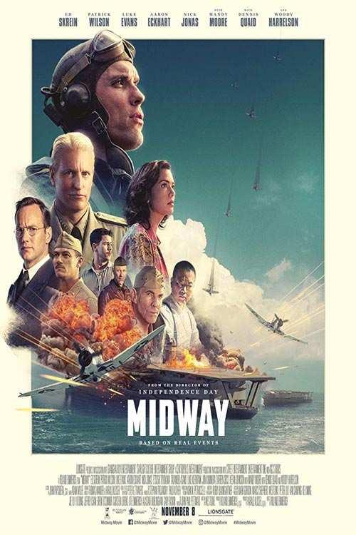 دانلود فیلم Midway 2019 با لینک مستقیم  دانلود فیلم جدید