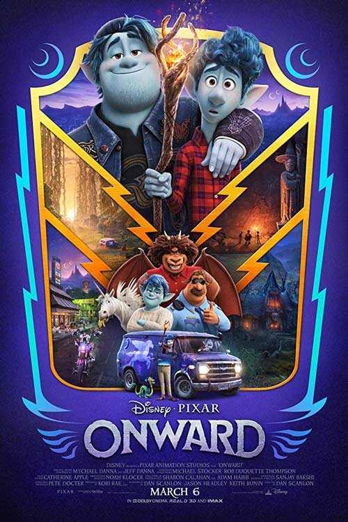 دانلود انیمیشن Onward 2020 با لینک مستقیم  دانلود انیمیشن جدید