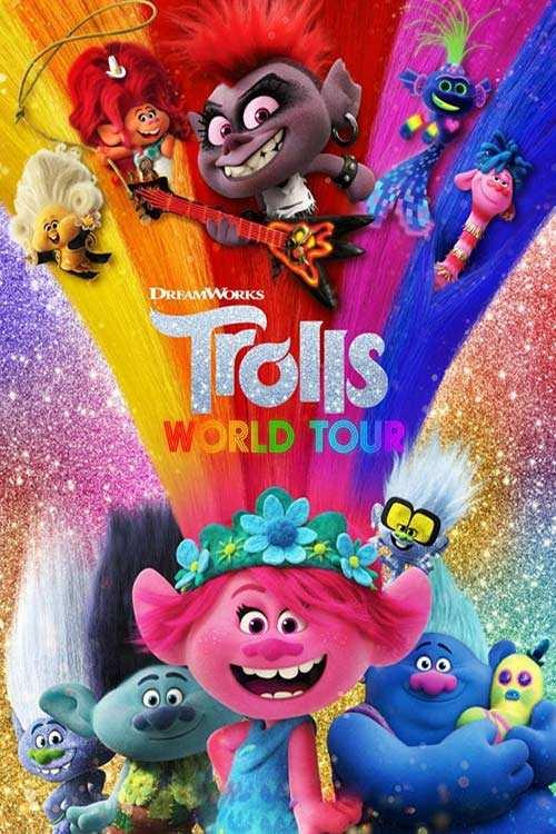 دانلود انیمیشن Trolls World Tour 2020 با لینک مستقیم |دانلود انیمیشن جدید