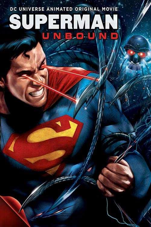 دانلود انیمیشن Superman: Unbound 2013 با دوبله فارسی