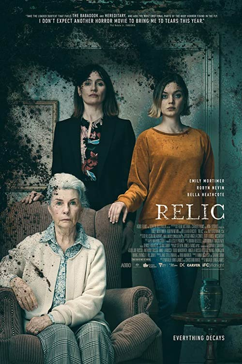 دانلود فیلم Relic 2020 با لینک مستقیم |دانلود فیلم جدید