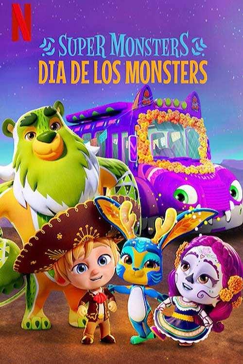 دانلود انیمیشنSuper Monsters:Dia de los Monsters 2020 با لینک مستقیم|دانلود فیلم جدید