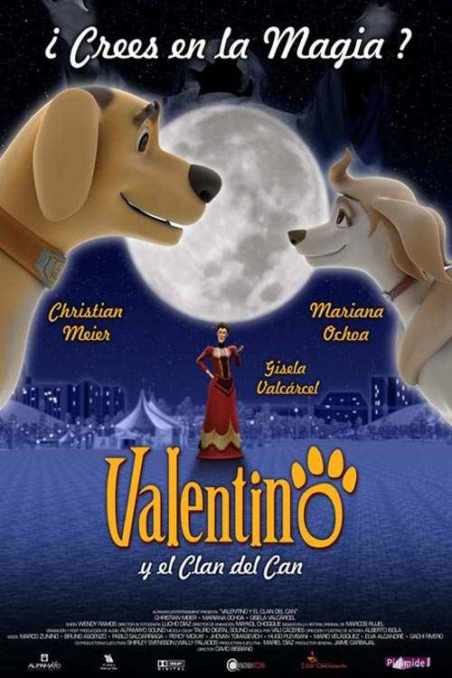 دانلود انیمیشن Valentino y el clan del can 2008 با دوبله فارسی